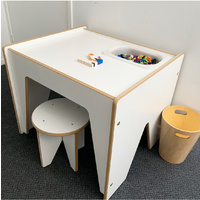 ACTIVITY LEGO TABLE + STOOL FOR ONE
