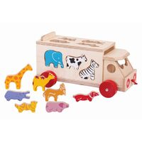 Animal Shape Sorter Truck