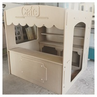 CAFE SHOP CUBBY HOUSE - UNPAINTED MDF