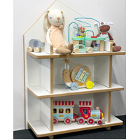 HOUSE BOOKCASE SHELF DOLL HOUSE