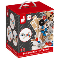 BricoKids Barrel DIY 50pc