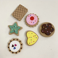 WOODEN BISCUITS SET OF 6