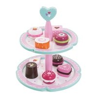 CAKE STAND WITH X9 YUMMY DELIGHTS