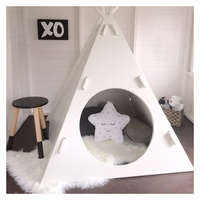 TEE PEE WOODEN CUBBY HOUSE
