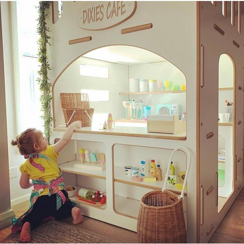 CAFESHOP03 INDOOR CAFE SHOP CUBBY HOUSE