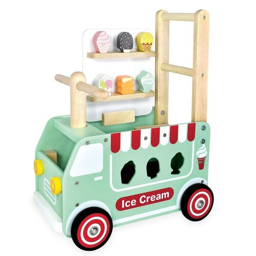 Walk and Ride Ice Cream Truck